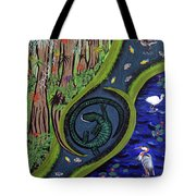 The Living Marshes Tote Bag
