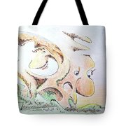 The Living Planet Tote Bag