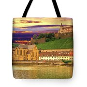 The Lock On The Hill Tote Bag