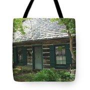 The Log Cabin Tote Bag