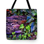 The Log In The Woods  Tote Bag