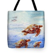 The Loggerheads Catch The Currents Tote Bag