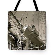 The London Eye In Sepia Tote Bag