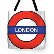 The London Underground Tote Bag