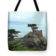 The Lone Cypress Stands Alone Tote Bag