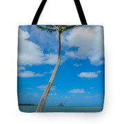 The Lone Palm Tote Bag
