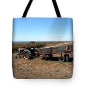 The Lone Wagon Tote Bag