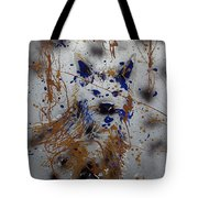 The Lone Wolf  Canis Lupus Tote Bag