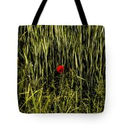 The Loneliness Of A Poppy Tote Bag