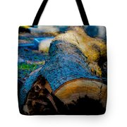 The Lonely Log Tote Bag