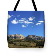 The Lonely Mountains Tote Bag