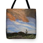 The Lonely Road Tote Bag