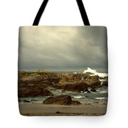 The Lonely Sea And Sky Tote Bag