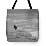 The Lonely Surfer Dude Tote Bag