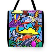 The Long And Winding Road Two Tote Bag
