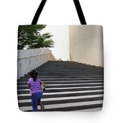 The Long Climb Tote Bag
