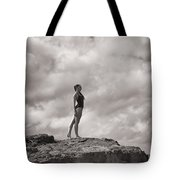 The Long Distance Swimmer Tote Bag