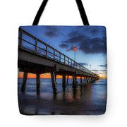The Long Pier Tote Bag