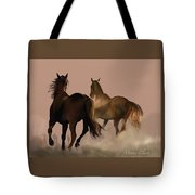 The Long Race Tote Bag