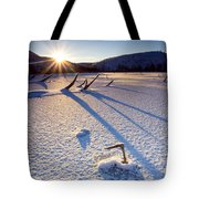 The Long Shadows Of Winter Tote Bag