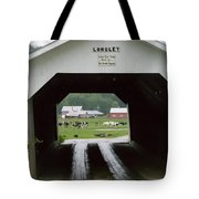 The Longley Covered Bridge Tote Bag