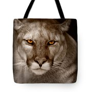The Look - Florida Panther Tote Bag