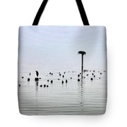 The Loon Guard Tote Bag