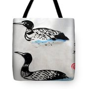 The Loons Tote Bag