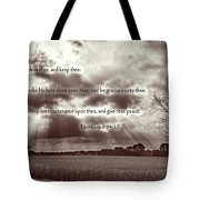 The Lords Blessing Tote Bag