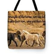 The Lord's Delight Tote Bag