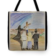 The Lost And Lonely Lamb Tote Bag