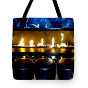 The Lounge Fireplace Tote Bag