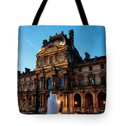 The Louvre Palace Tote Bag