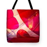 Hearts A' Fire - The Love Hot Air Balloon Tote Bag