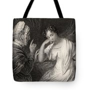 The Love Letter Engraved By Charles Tote Bag