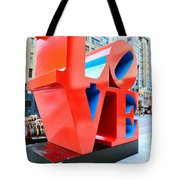 The Love Sculpture Tote Bag by Paul Ward