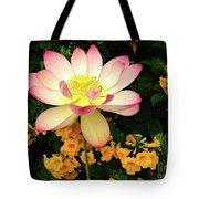 The Lovely Lotus Tote Bag