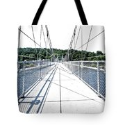 The Lumberville Raven Rock Bridge Tote Bag
