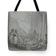 The Luncheon On The Grass Tote Bag