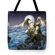 The Lurker From The Darkness Tote Bag