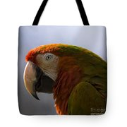 The Macaw Portrait Tote Bag