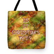 The Madness Of Christmas Card Tote Bag