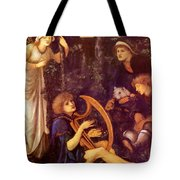 The Madness Of Sir Tristram Tote Bag