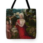 The Magdalen In A Landscape Tote Bag