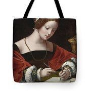 The Magdalene Writing A Letter Tote Bag