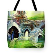 The Magic And Majesty Of Corfe Castle Tote Bag