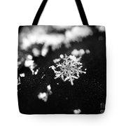 The Magic In A Snowflake Tote Bag