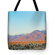 The Magic Light Of Taos  Tote Bag