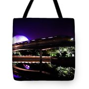 The Magic Of Epcot Tote Bag