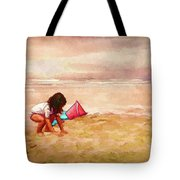 The Magic Of Sand Tote Bag